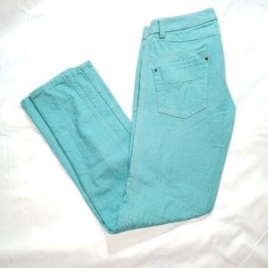 Diesel Darron Size 32 x 32 slim tapered jeans aqua